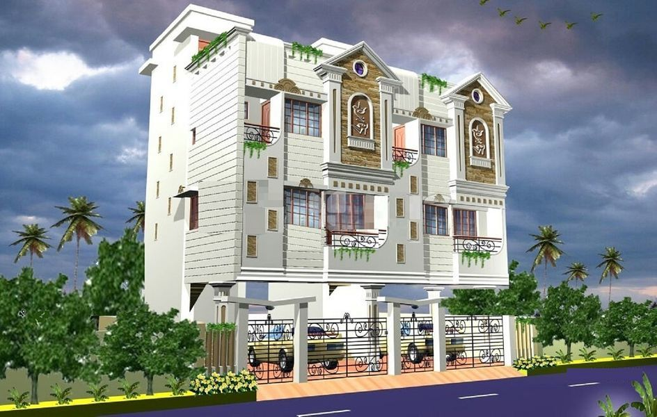 Sri Saligramam Duplex Villas - Elevation Photo