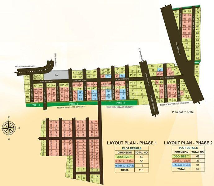 Brinda Imperial Phase II - Master Plans