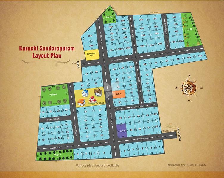 M&C Arul Gardens - Master Plans
