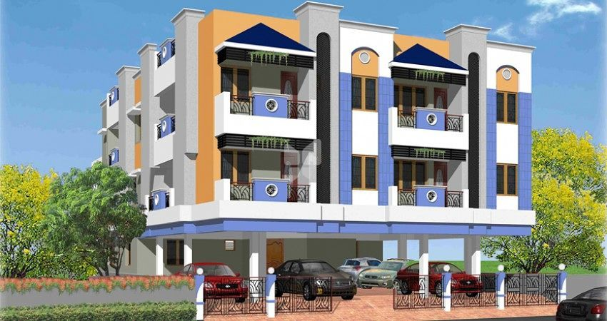 Sai Krupa Residency - Elevation Photo