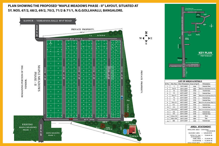 Maple Meadows Phase II - Master Plans