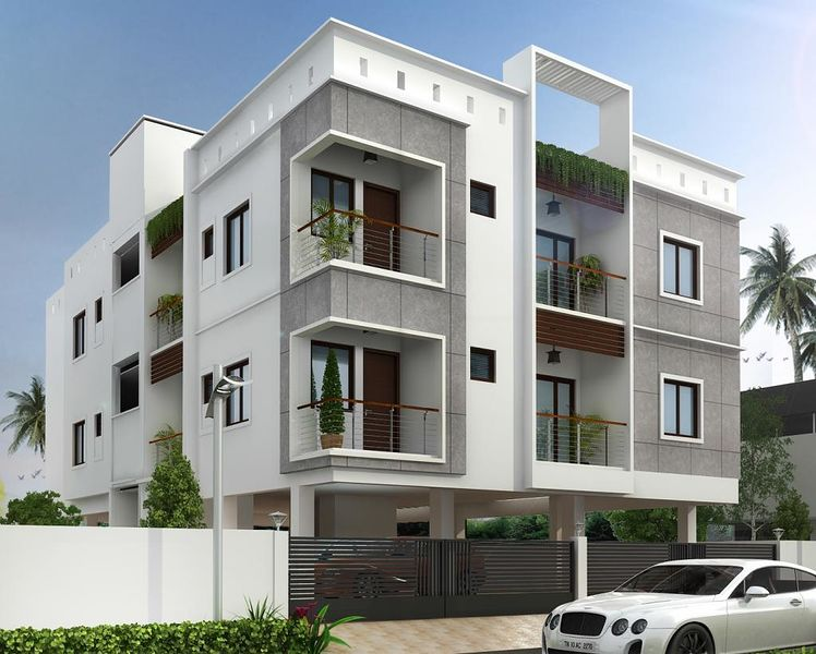 Stepsstone sri dattatreya 39 s in choolaimedu chennai roofandfloor - Appartement design moderne ganna ...