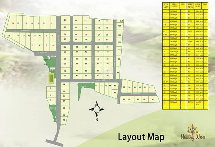 Heavenly Woods Phase 1 - Master Plans