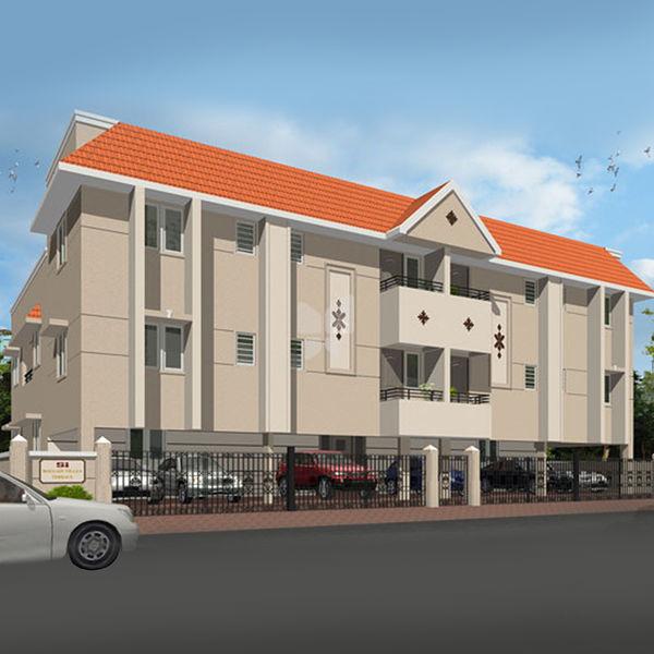 Artnlight Madras Terrace House Chennai: Si Bougainvillea Terrace In Mogappair, Chennai