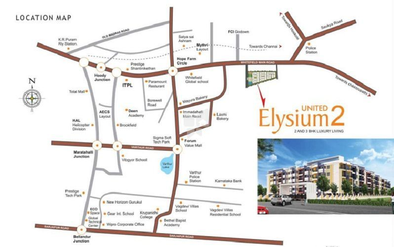 United Elysium-2 in Channasandra, Bangalore by A Rahman Builders &  Developers - Get TruePrice, Brochure, Amenities, Price Trends and Map on