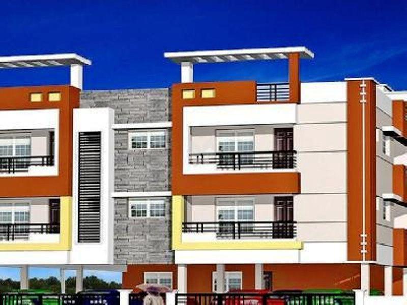 CC Bharatham Enclave - Elevation Photo