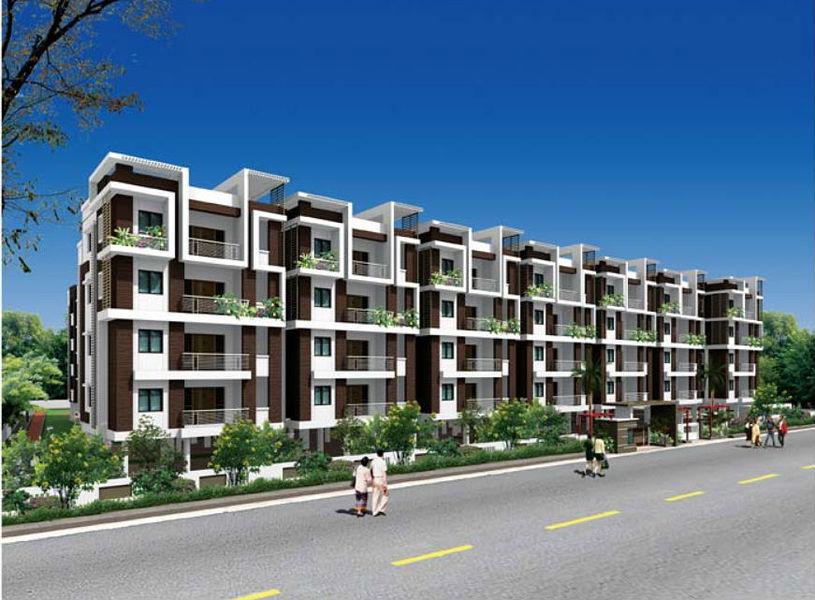 CBR Aakruthi - Elevation Photo