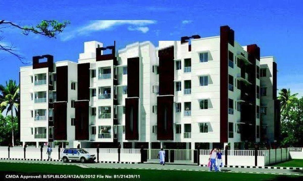 Priya VSR Paradise Phase IV - Elevation Photo