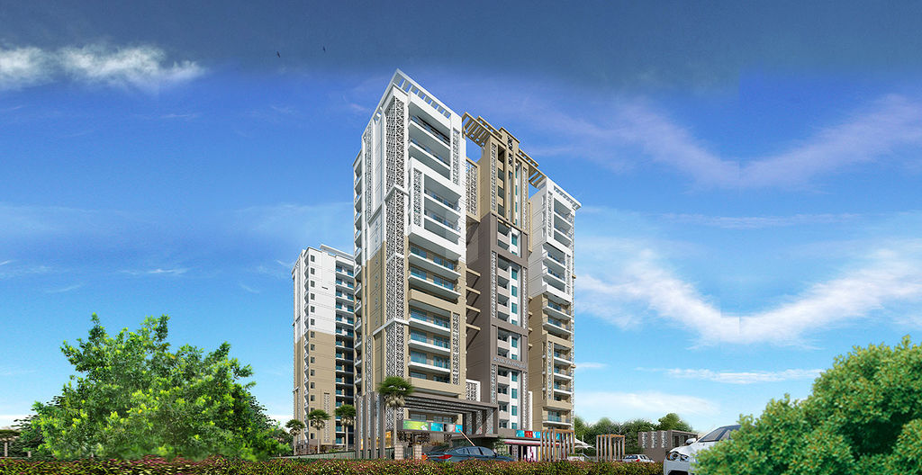 DS Atulya Heights - Elevation Photo
