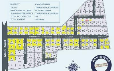 everrest-sri-bhuvaneshwari-nagar-in-kanchipuram-master-plan-1s70