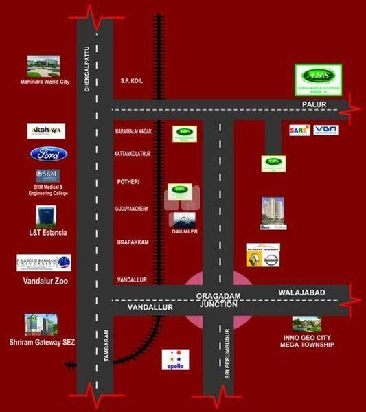 Subhamangala Avenue Phase III - Location Maps