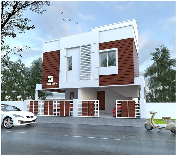 V4U Lotus Villa - Elevation Photo