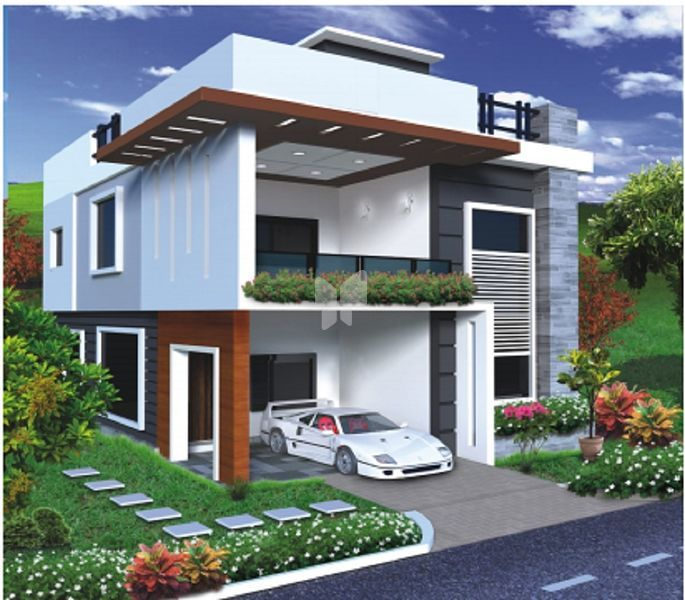 Vijetha Cyber Side Villas - Elevation Photo