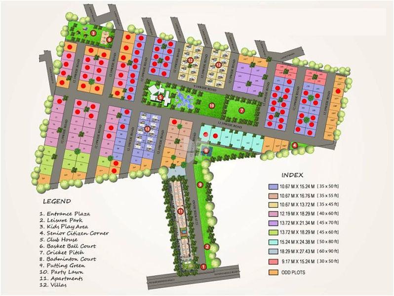 Krishna Stoneview - Master Plans