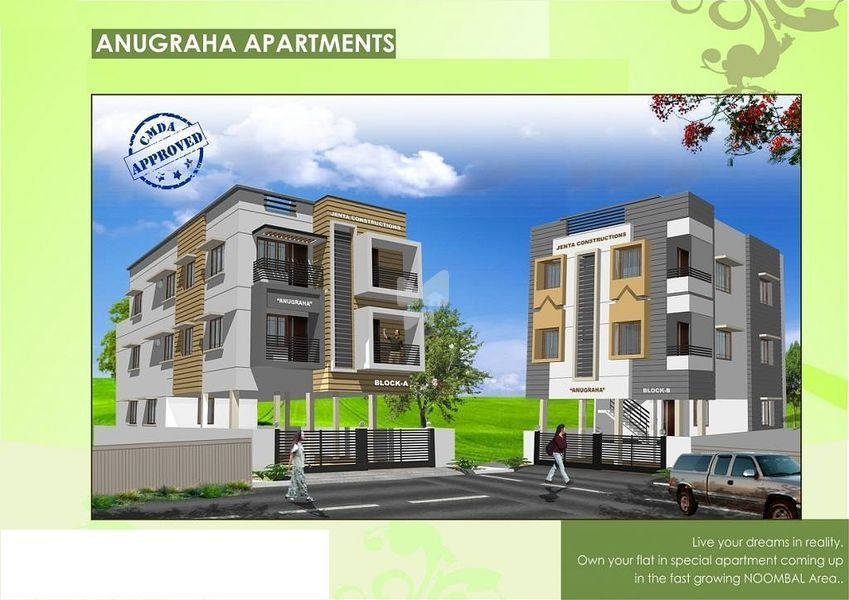 Anugraha Apartments In Porur Chennai By Jenta Constructions Get Trueprice Brochure