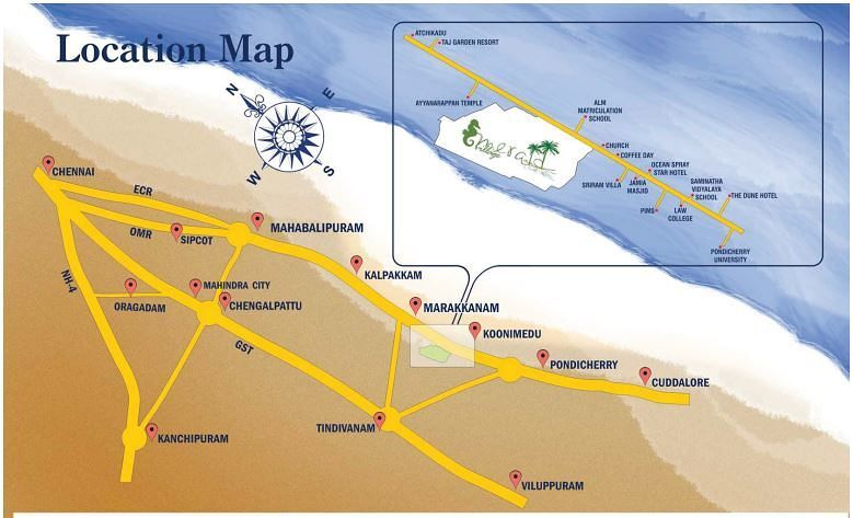 KKK Emerald Village - Location Maps