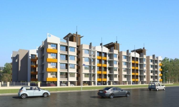 Sarang Radhey Residency - Elevation Photo
