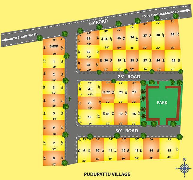 CLS Deepam Enclave - Master Plans
