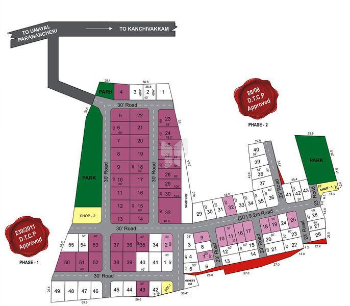 Pristine Balaji Avenue - Master Plans