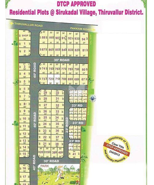 BL Sree Gokul Garden - Master Plan