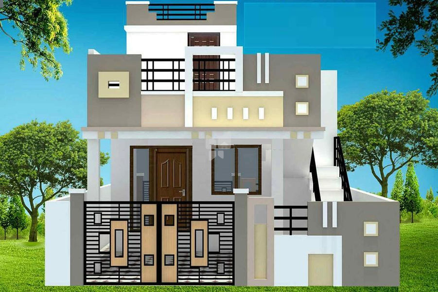 Real Value Superfine Row House - Elevation Photo