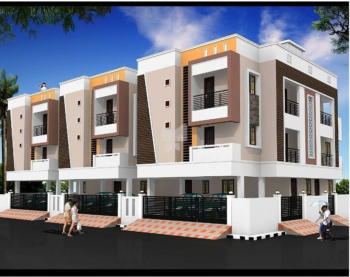 Kodeeswari Sri Sai Apartments - Elevation Photo