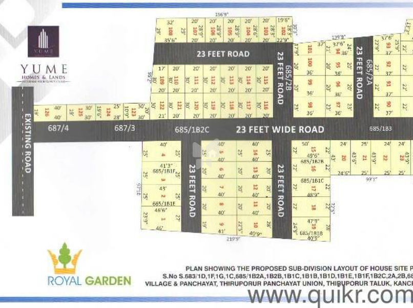 Yume Royal Garden - Master Plans