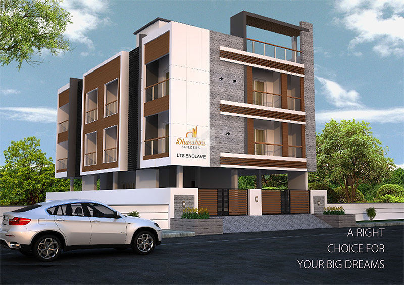 Dharshini LTS Enclave - Elevation Photo