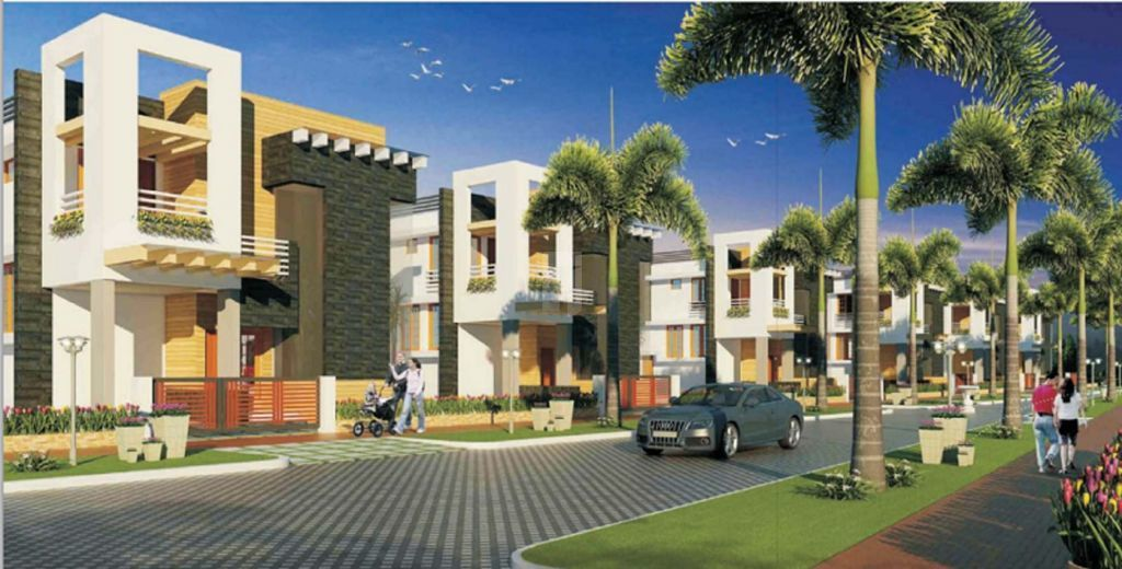 Aadhar Dew Drops Villas - Elevation Photo