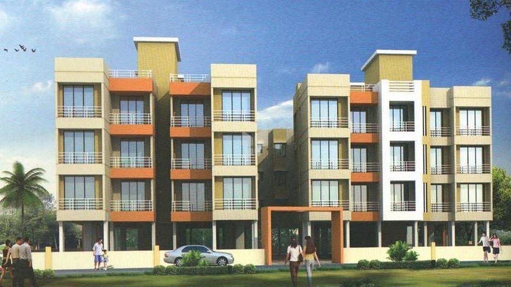 Space Indraprasth Apartment - Elevation Photo