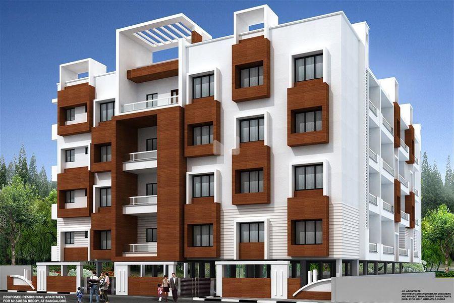 BSR Akshaya Residency - Elevation Photo