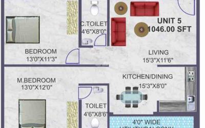 bsr-akshaya-residency-in-silk-board-floor-plan-2d-o6e