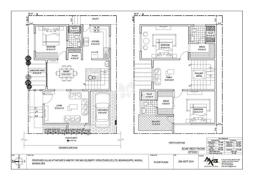 30x40 house floor plans 30x40 house plans