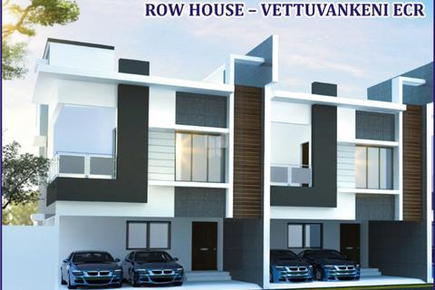 Row Houses Projects For Sale In ECRChennai RoofandFloor