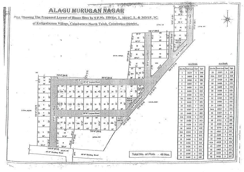Greens Alagu Murugan Nagar - Master Plans