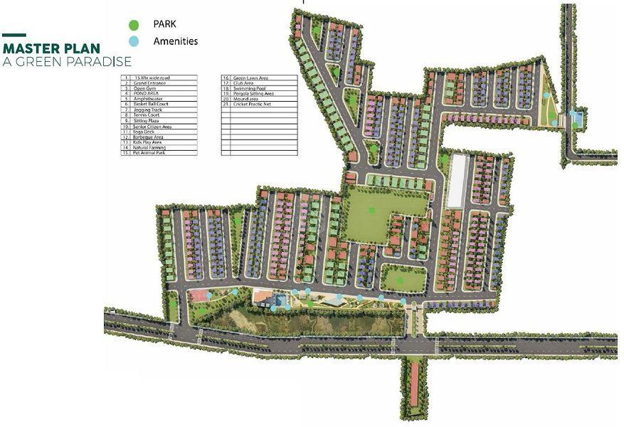 Sammys Palm Hills - Master Plan