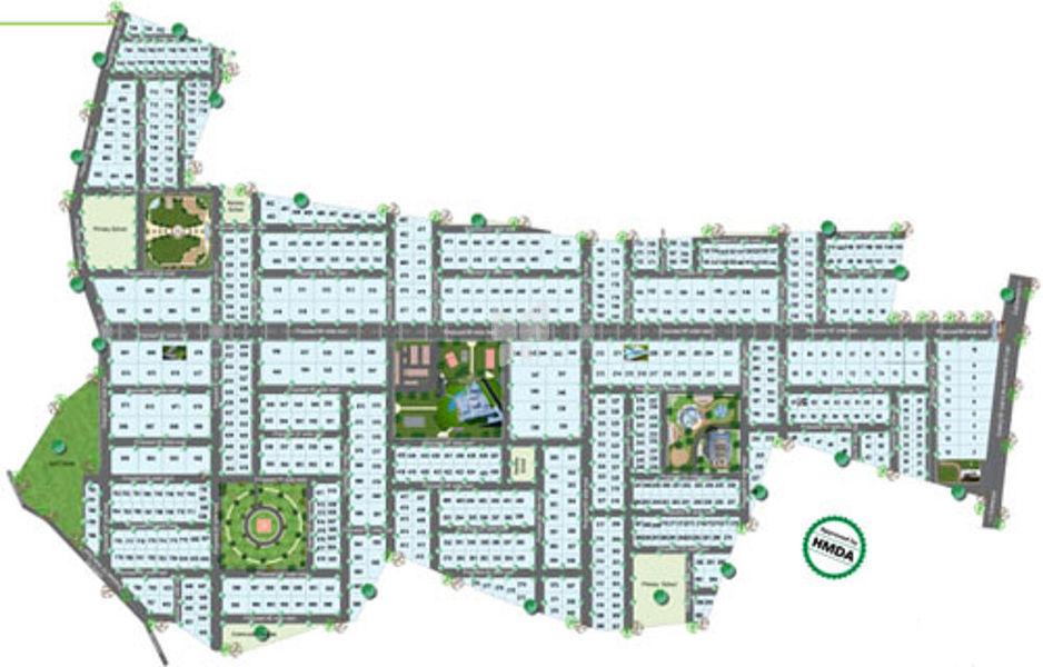 Sree Vensai Health Village - Master Plans
