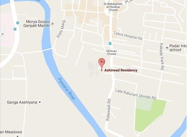 Ashirwad Residency - Location Map