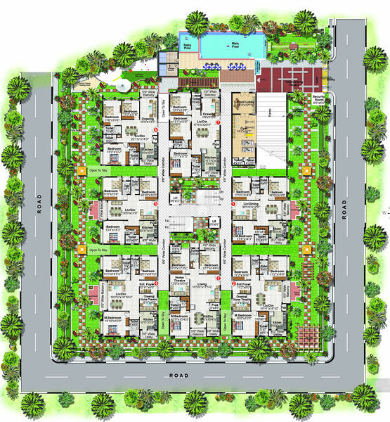 3 bhk apartments in ayyanna pride madhapur hyderabad by