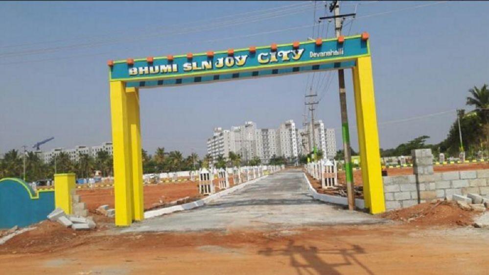Bhumi SLN Joy City - Elevation Photo