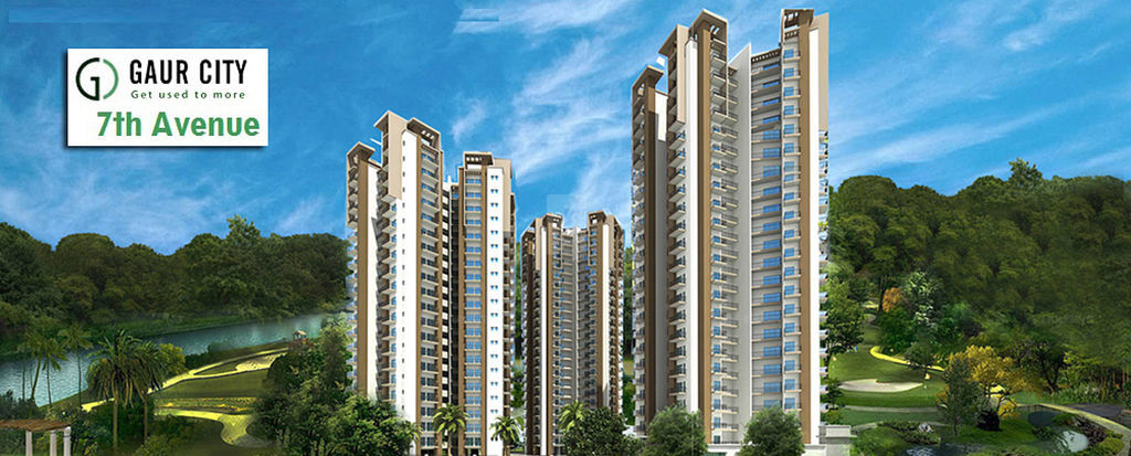 Gaur City 7th Avenue - Elevation Photo