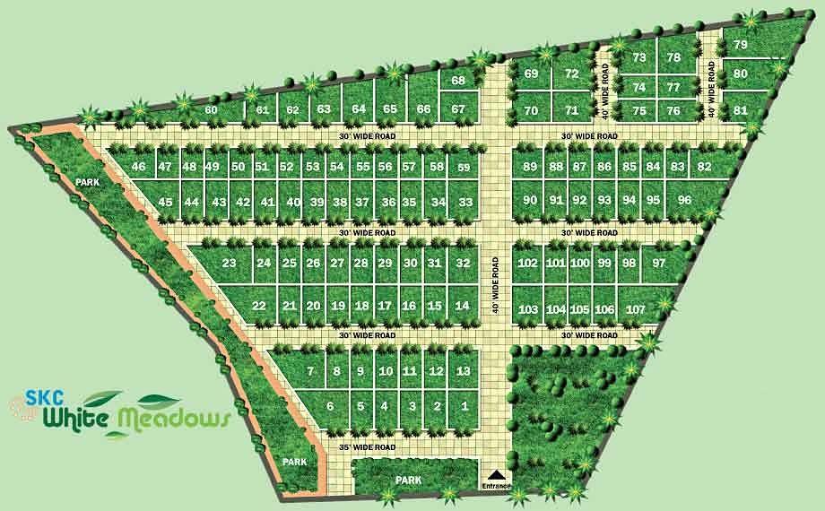 White Meadows - Master Plan