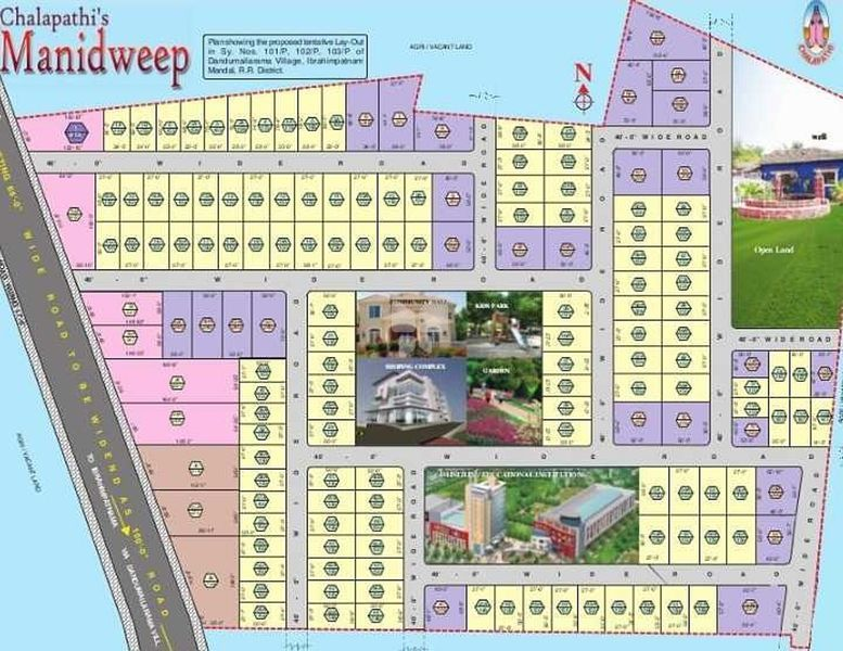 Chalapathis Manidweep - Master Plans