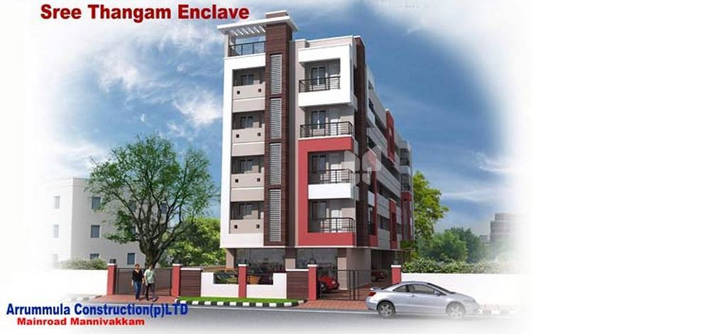 Arrummula's Sree Thangam Enclave - Elevation Photo