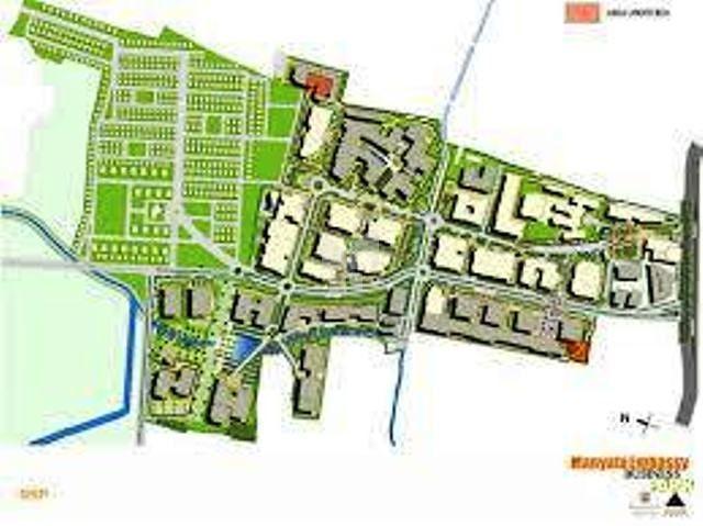 Manyata Residency - Master Plan