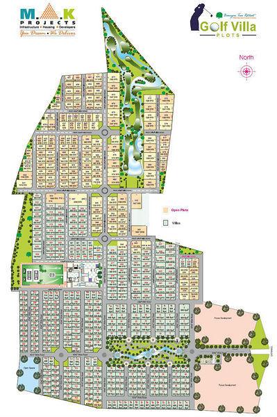 Banyan Tree Retreat Plots - Master Plans