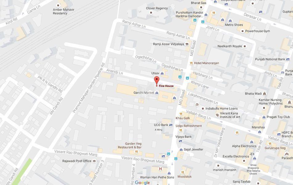 Fine House - Location Maps