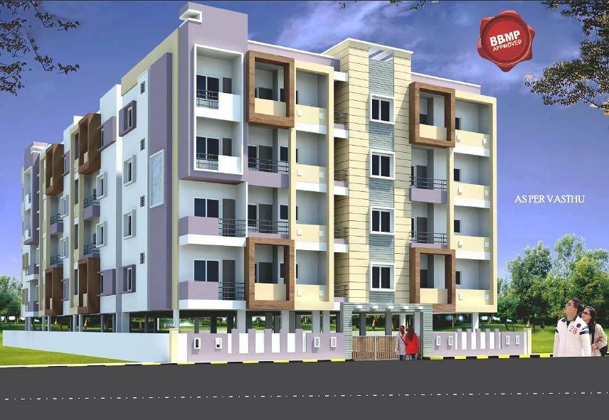 HSV Prakruthi Enclave - Elevation Photo