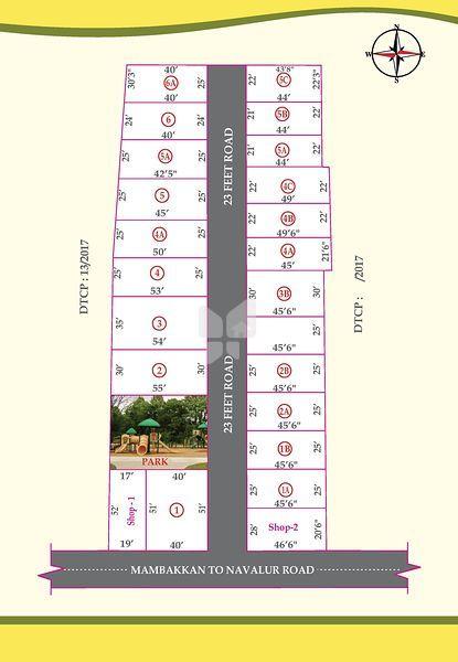 Sri Kanniappan Nagar - Master Plans