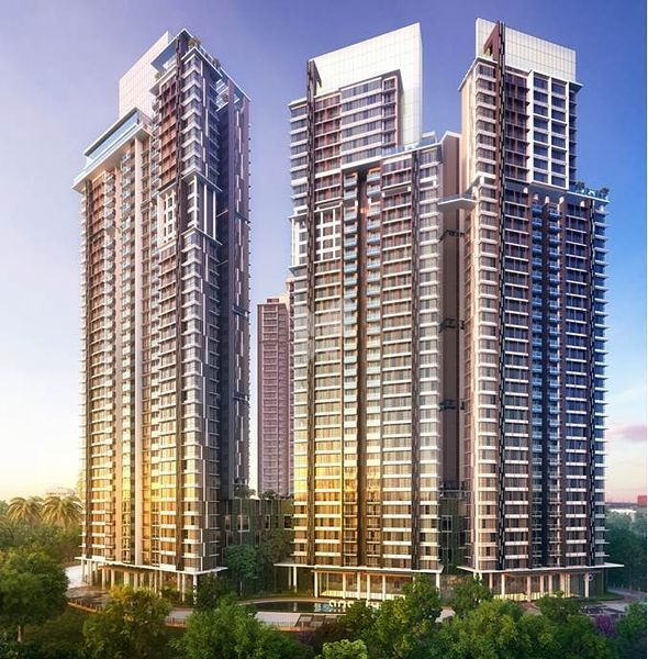 Colonial Park Apartments: 1 BHK Apartments In Radius Central Park, Chembur Colony